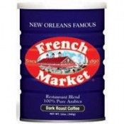 French Market 100% Arabica Dark Roast Coffee 12 oz.